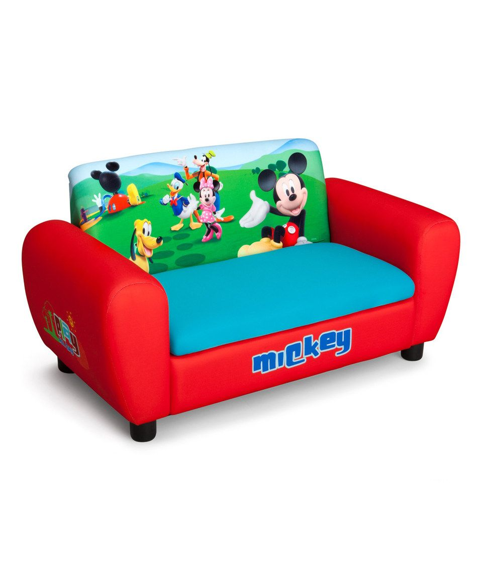 Another great find on zulily Mickey Mouse Storage Sofa by Mickey