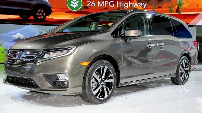 2018 Honda Odyssey Redesign And Release Date