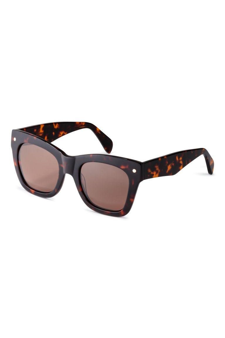 Polariserade solglasögon - Sköldpaddsfärgad - DAM  6e045ba777290