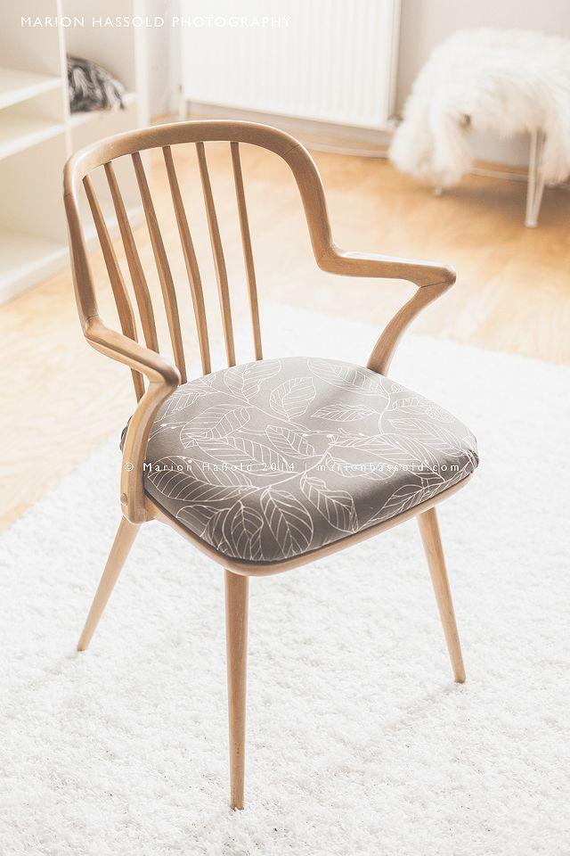 DIY Upcycling – Wie man ein Stuhlpolster neu bezieht Marion\'s Blog ...