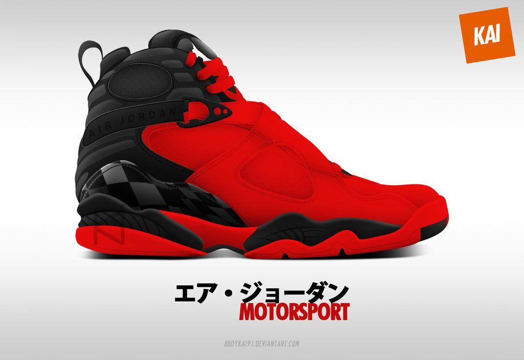 Air Jordan 8 Premium 'Motorsport' by