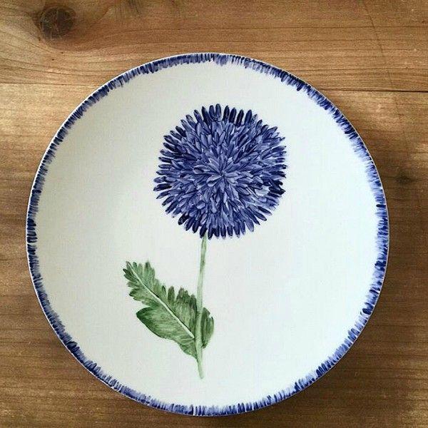 Azarraluqui y sus platos pintados a mano jas claire for Platos de ceramica