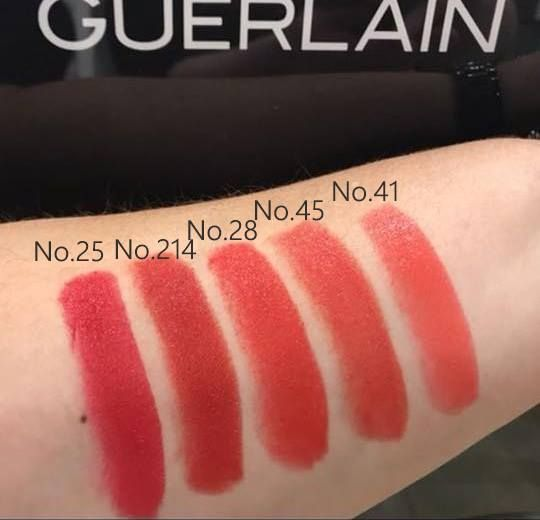 f0f114f62ca Guerlain New Rouge G Lipstick 2018 Swatches!!!