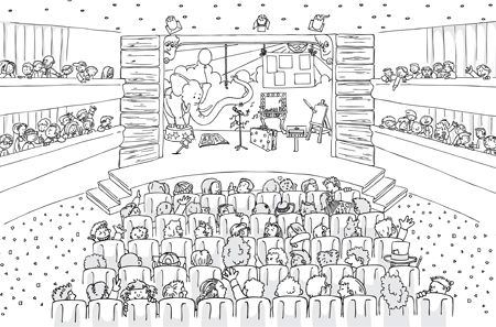 Kern 8 Kleurplaat Voorstelling Vll School Classroom En First