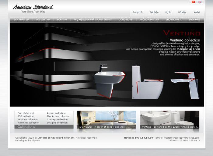 American Standard http://americanstandard.com.vn/ | Showcase ...