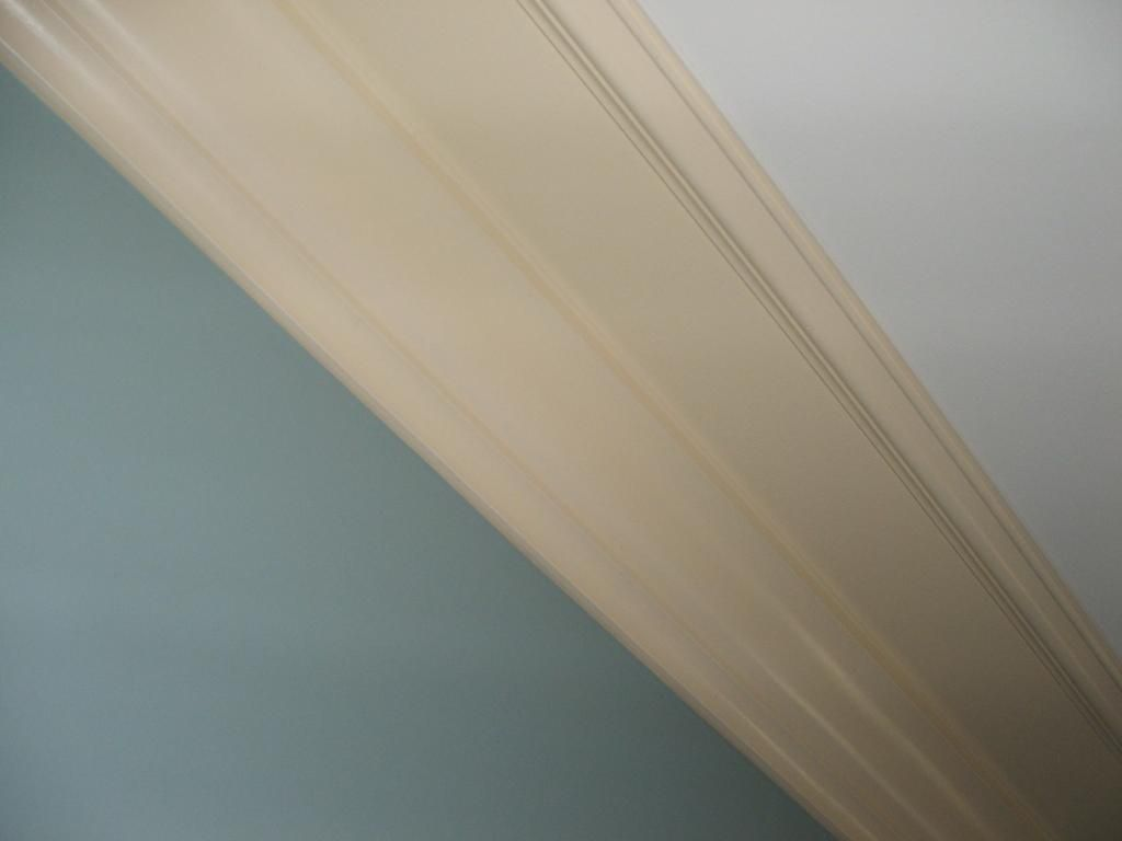View Topic Crown Moulding Trick For Low Ceilings Old House Web