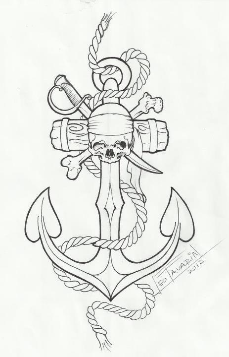 Resultado De Imagem Para Ancora Tattoo Desenho Com Imagens