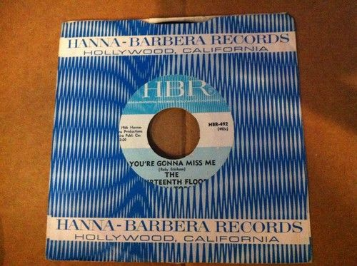 popsike.com - Rare 13th Floor Elevators vinyl HBR-492 You're Gonna Miss Me/Tried To Hide 45 - auction details