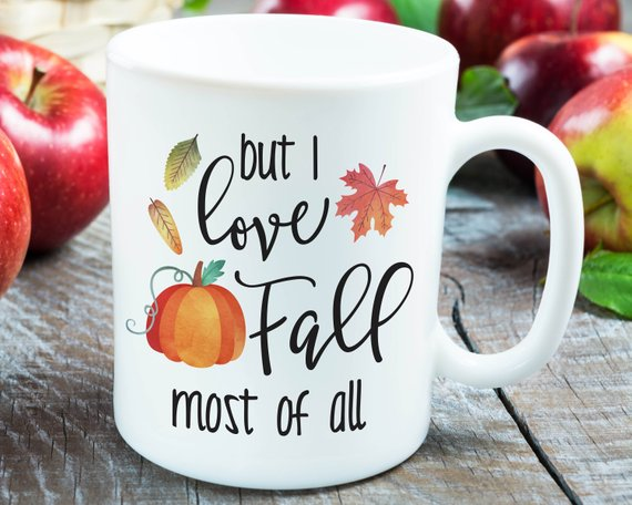 Fall Mug Fall Gift Ideas Autumn Gift Ideas Fall Coffee