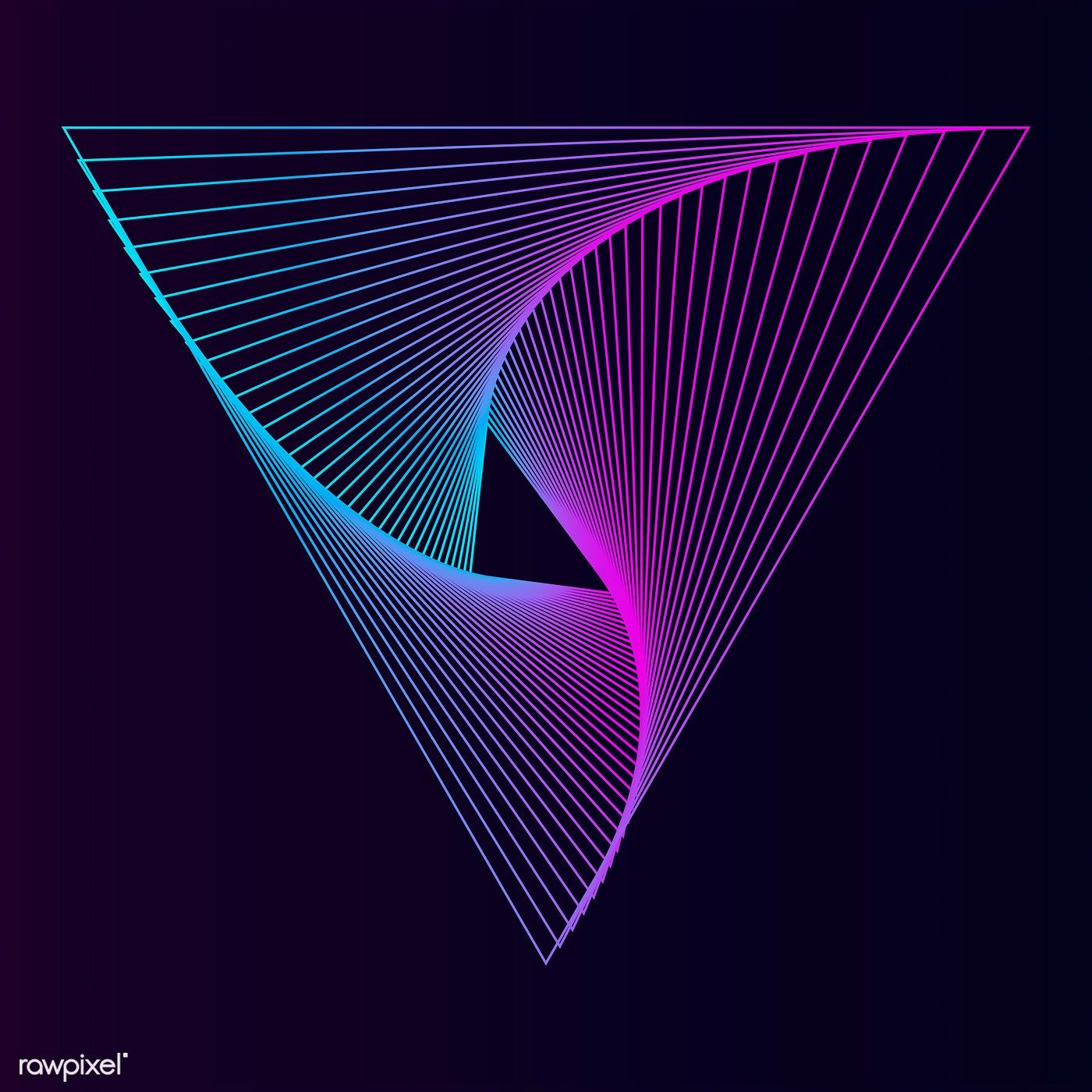 Abstract dynamic pattern wallpaper vector free image by
