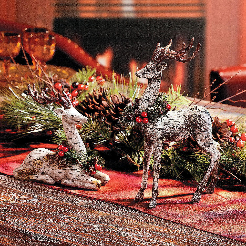 Reindeer Centerpiece TerrysVillage