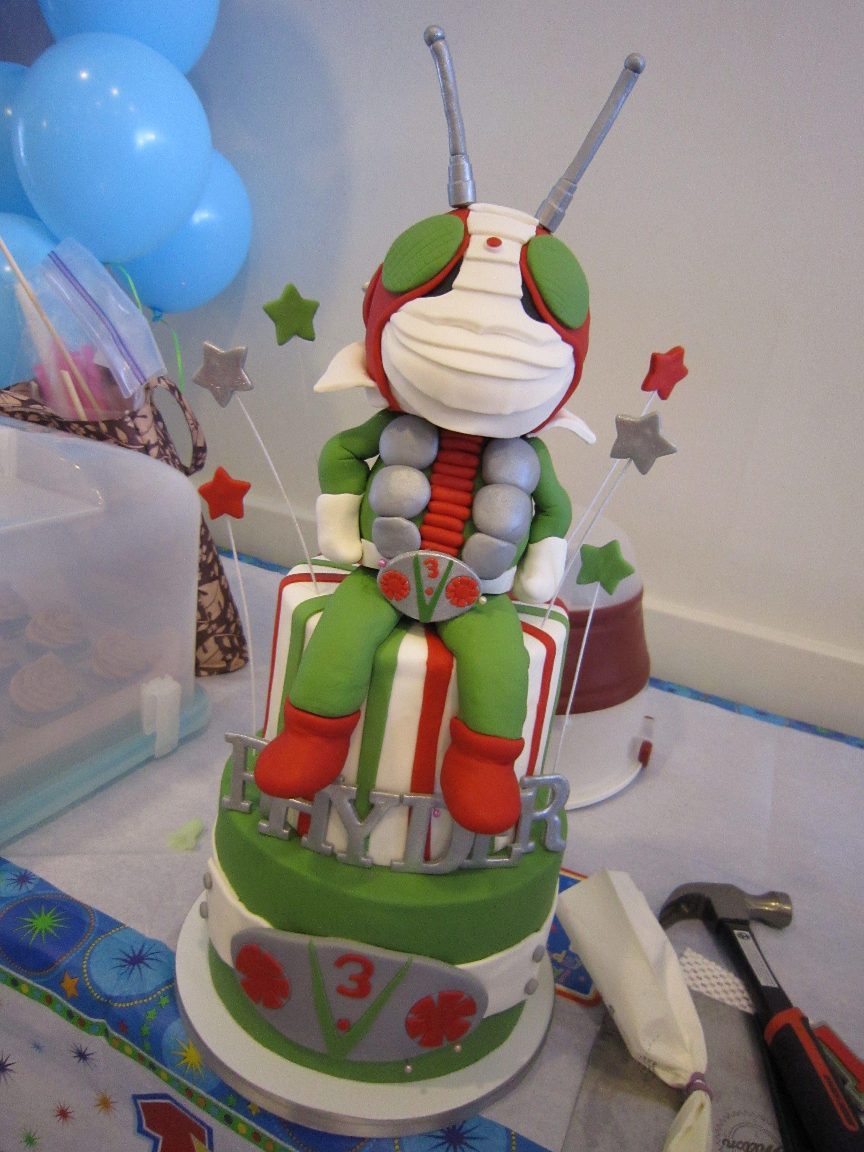 Kamen Rider Cake Isn T This Incredible At My Nephew