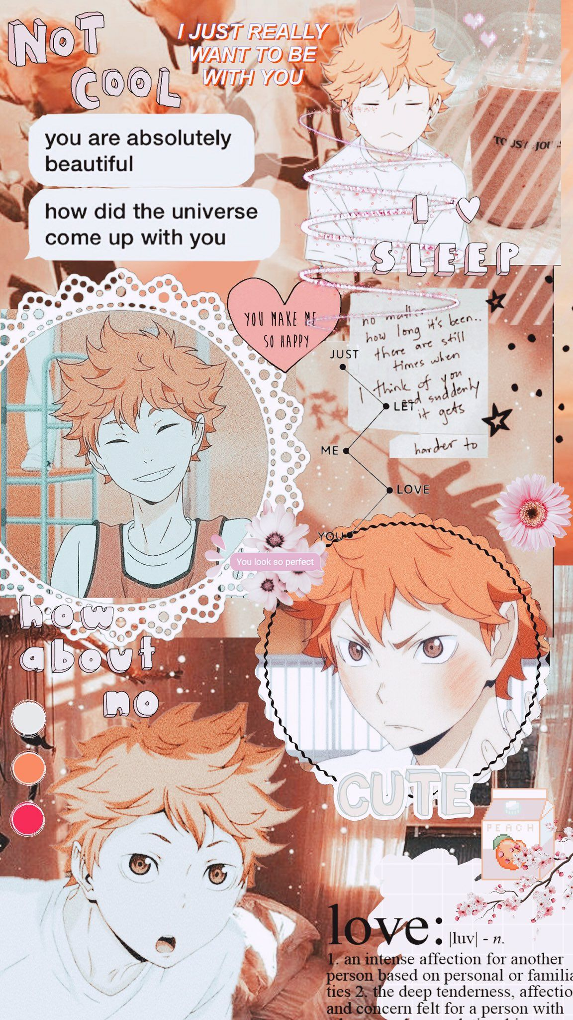 Pin On Anime 3 Aesthetic cute haikyuu wallpapers