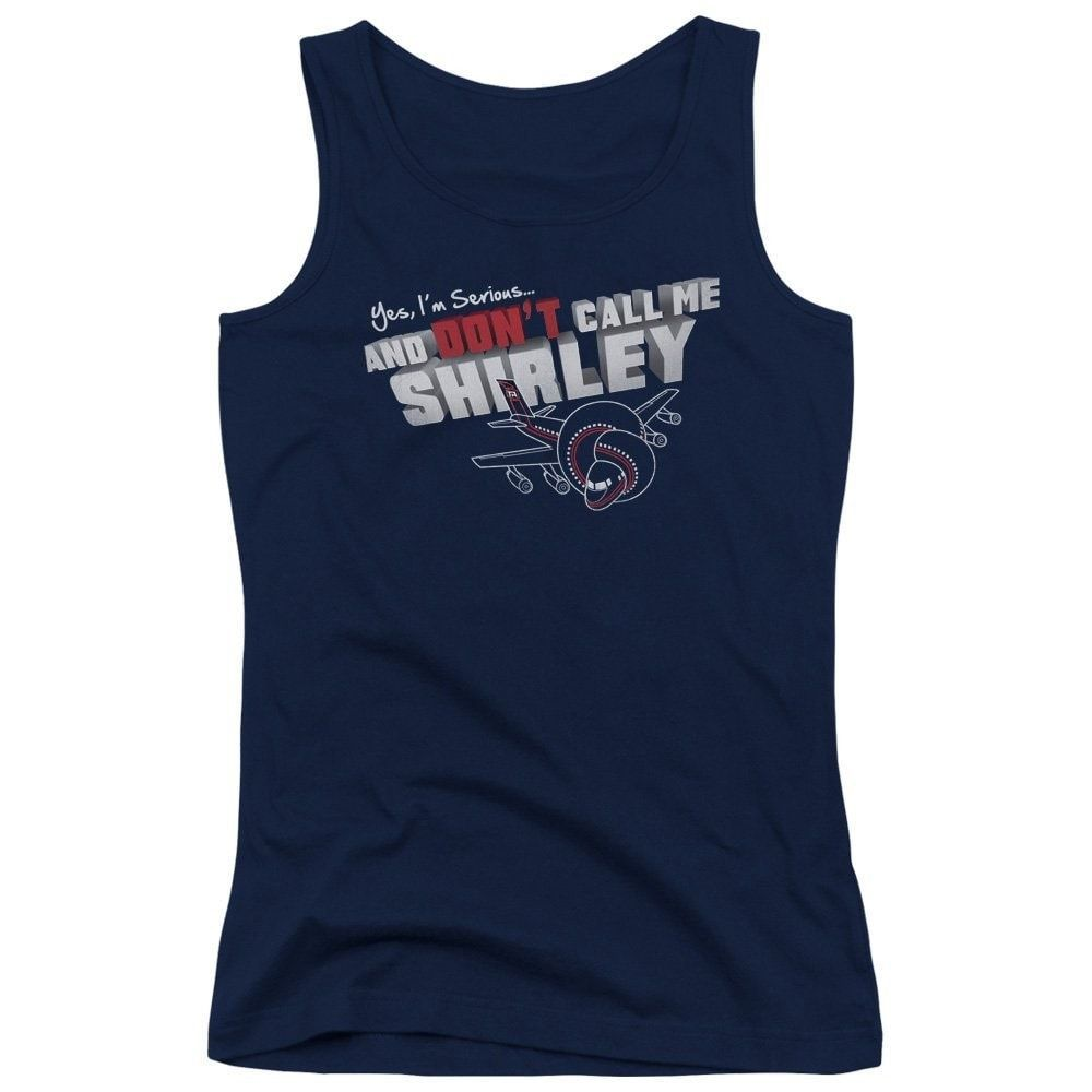 Airplane - Dont Call Me Shirley Junior Tank Top