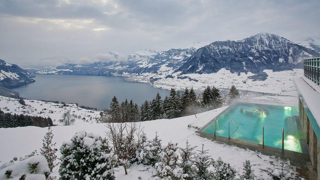 Villa Honegg Ein atemberaubendes Boutique Hotel in den