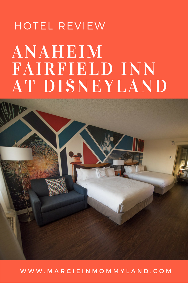 anaheim fairfield inn is one of the best hotels near disneyland