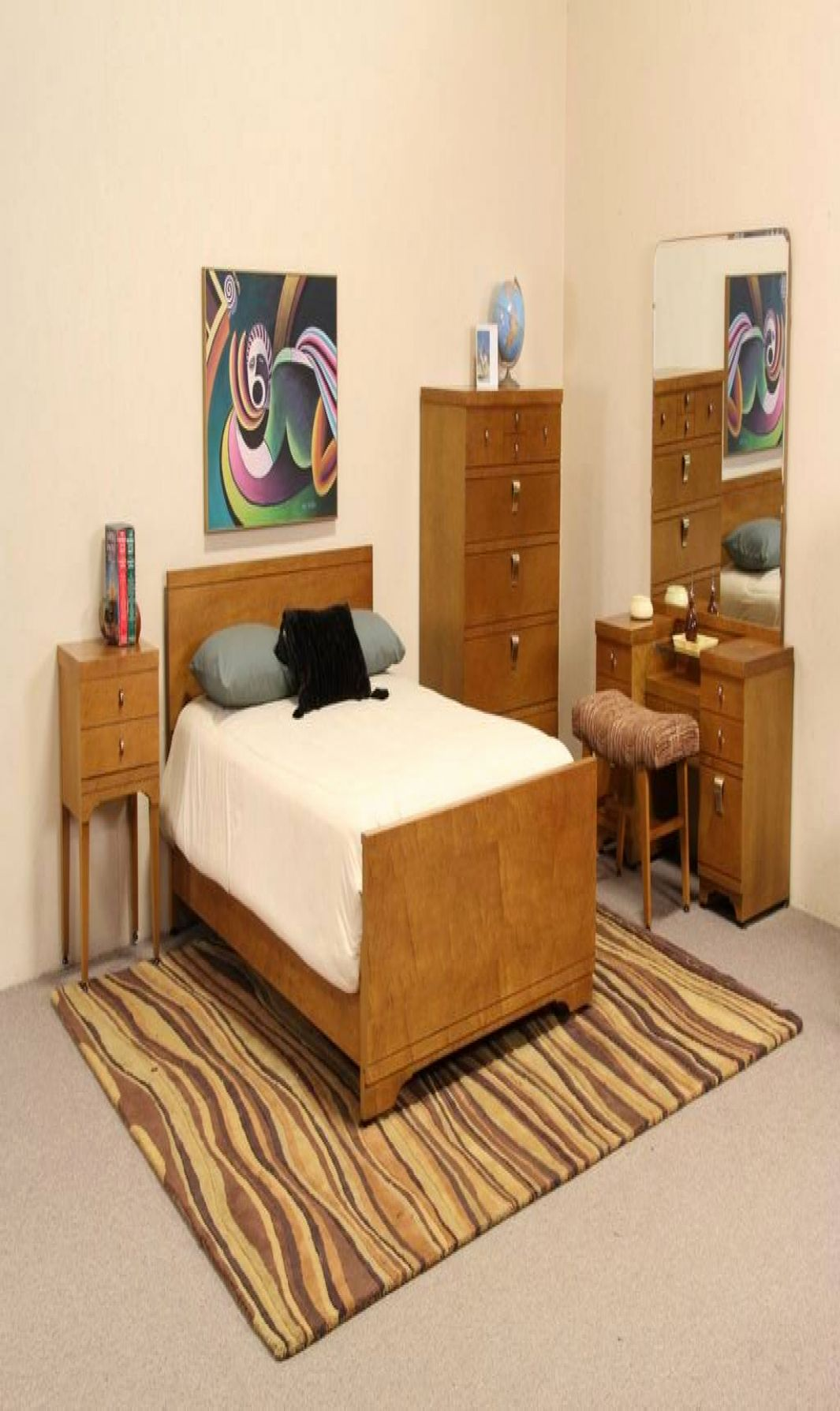 21 Incredible Vintage Home Decor 1950s Furniture Bedroom Set Ashley Bedroom Furniture Sets Home Decor 50s style bedroom furniture