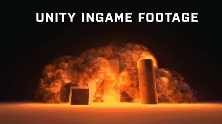 Unity Ingame Realtime Fully 3D Volumetric Explosion Shader | FX