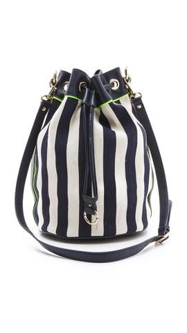 Juicy Couture Willow Canvas Bucket Bag  a6ffd658fe