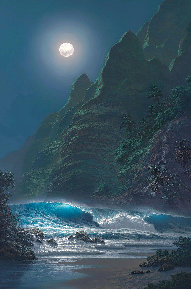 Hawaiian artists paintings   Roy Tabora   Symphony of the Sea   Tutt'Art@   Pittura * Scultura