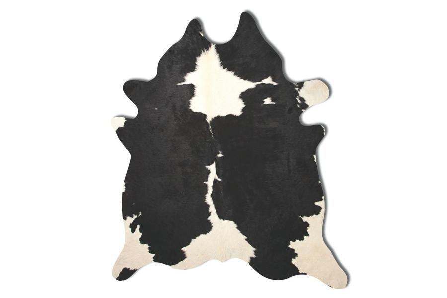 Kobe Cowhide Rug Black & White - Natural Brand - domino.com