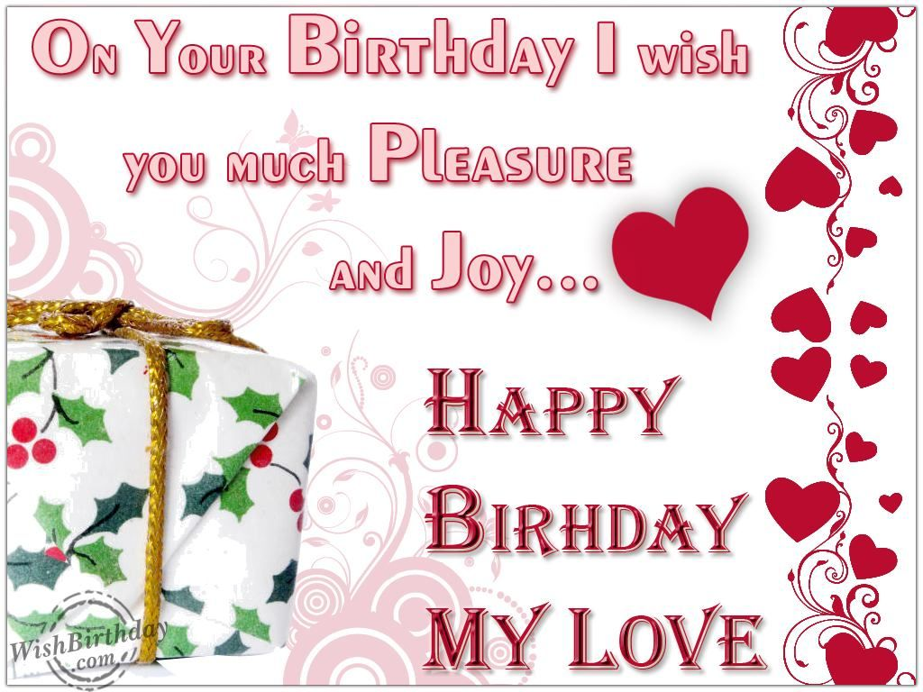 Happy Birthday Wishes For My Boyfriend Http Www