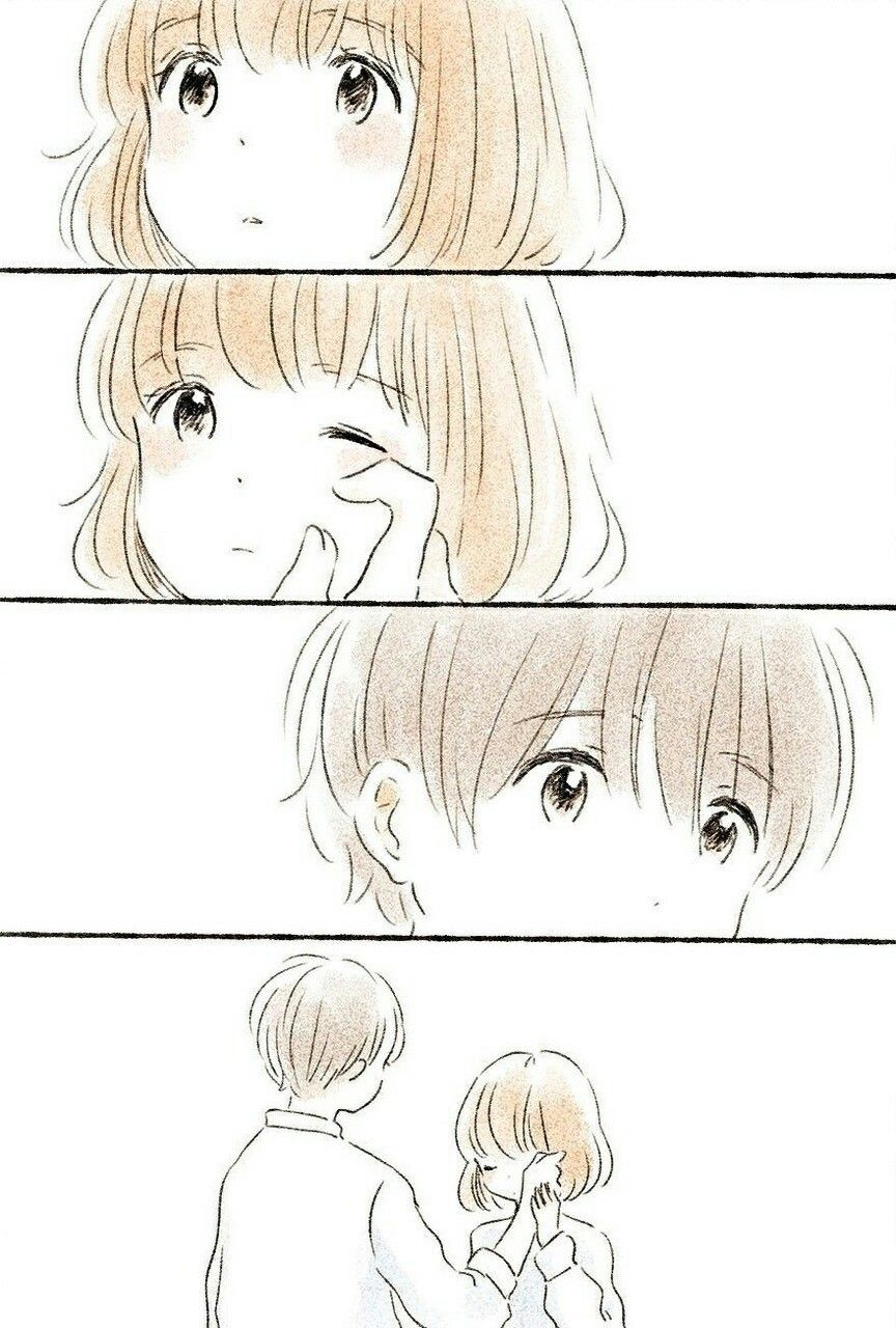 what a cute couple ! | love | pinterest | いつか、風 イラスト、漫画