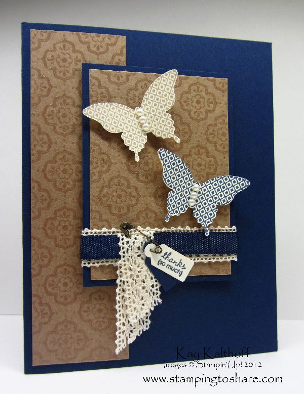 Stamping to Share: 8/9 Stampin' Up! Papillon Potpourri