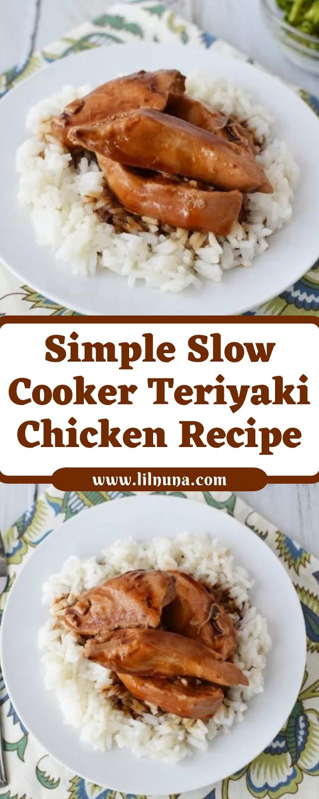Simple Slow Cooker Teriyaki Chicken Recipe images