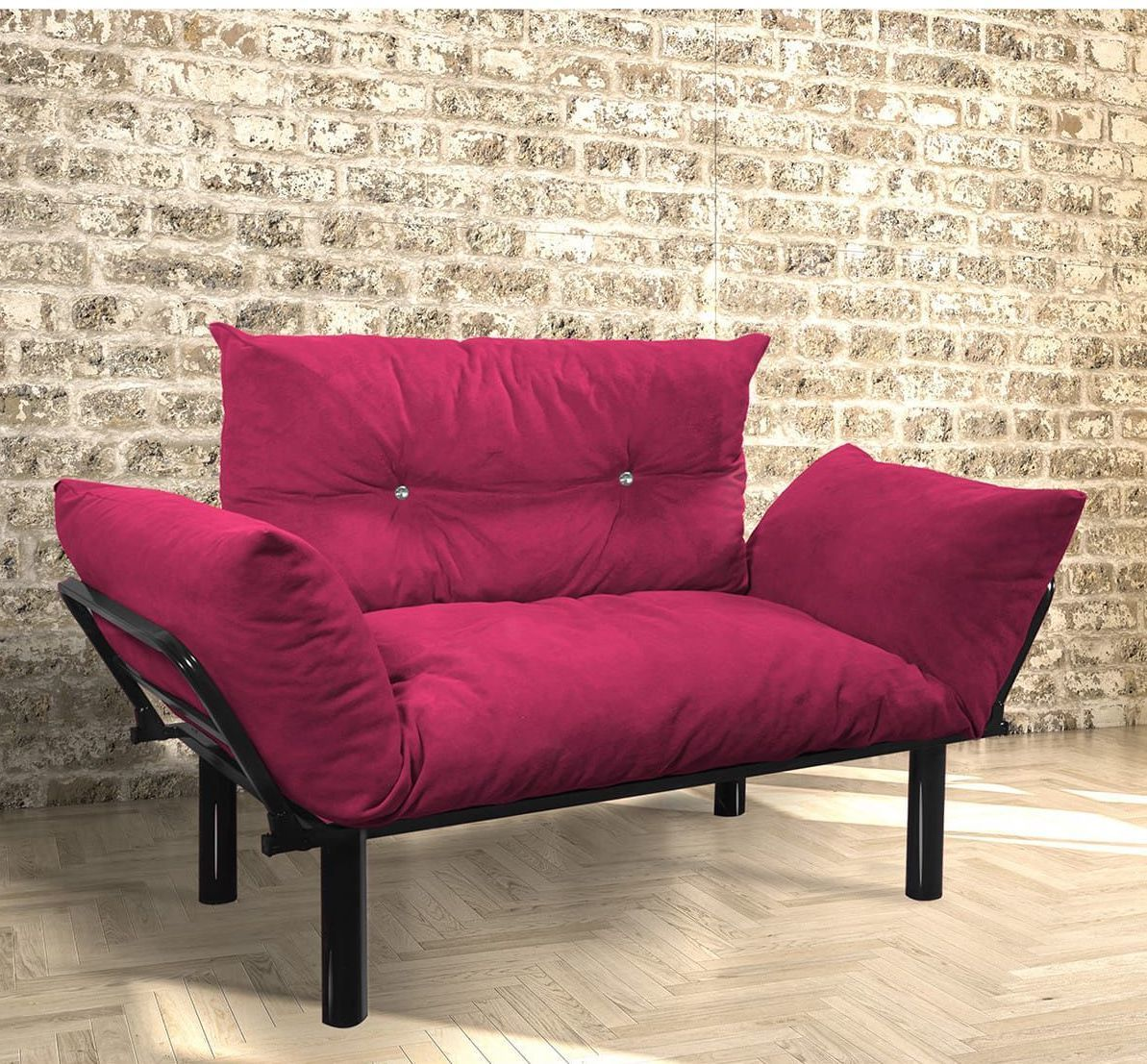 2 Kisilik Balkon Bahce Koltugu Murdum In 2020 Love Seat Furniture Colorful Loveseat