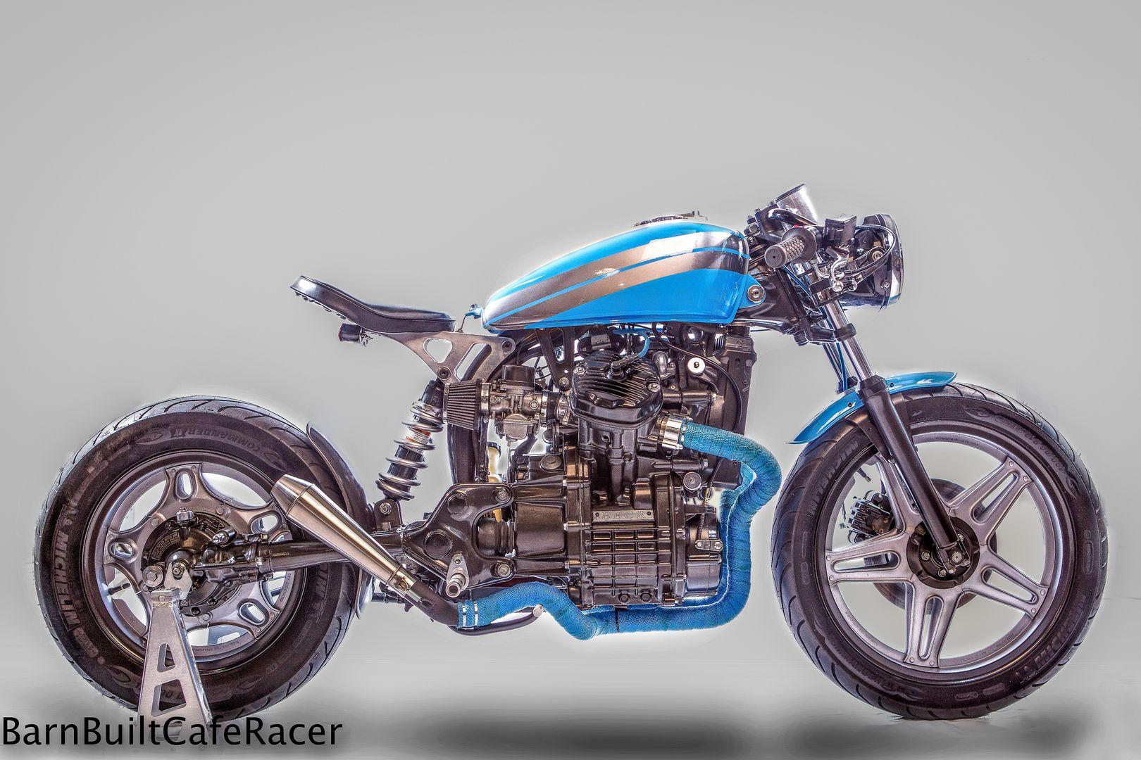 Honda CX500 bobber by BBCR