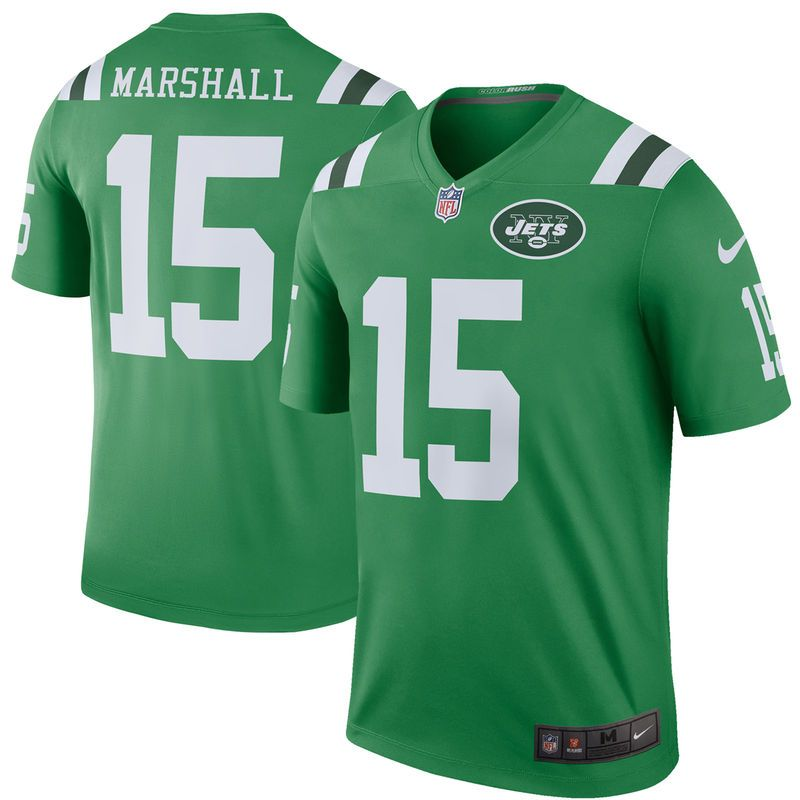outlet store a6490 2e369 Brandon Marshall New York Jets Nike Color Rush Legend Jersey ...