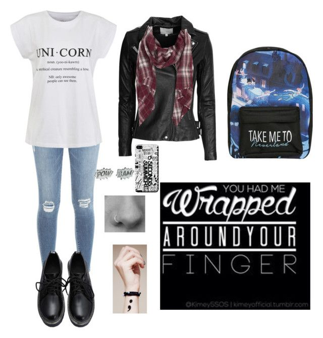 """""""Untitled #85"""" by bertuki21 ❤ liked on Polyvore featuring Frame Denim, Ally Fashion, IRO, Sole Society, Disney and Edge Only"""