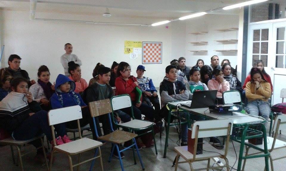 Los alumnos de la escuela Guadalupe