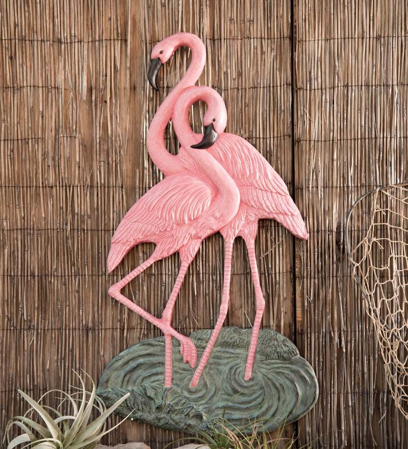 Aluminum Flamingo Wall Art In Wall Sculpture Art Flamingo Wall Art Flamingo Art Flamingo