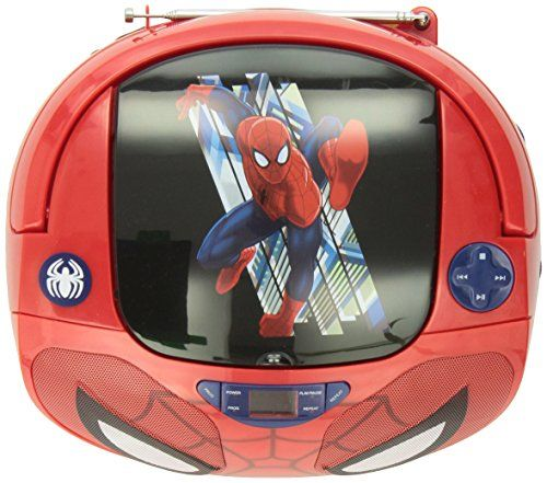 Spiderman 56344 Tru Cd Boombox 56344 Spiderman Http Www Amazon