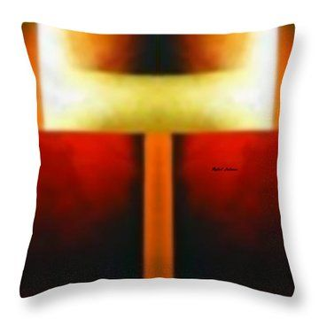 Abstract 1298 Throw Pillow by Rafael Salazar