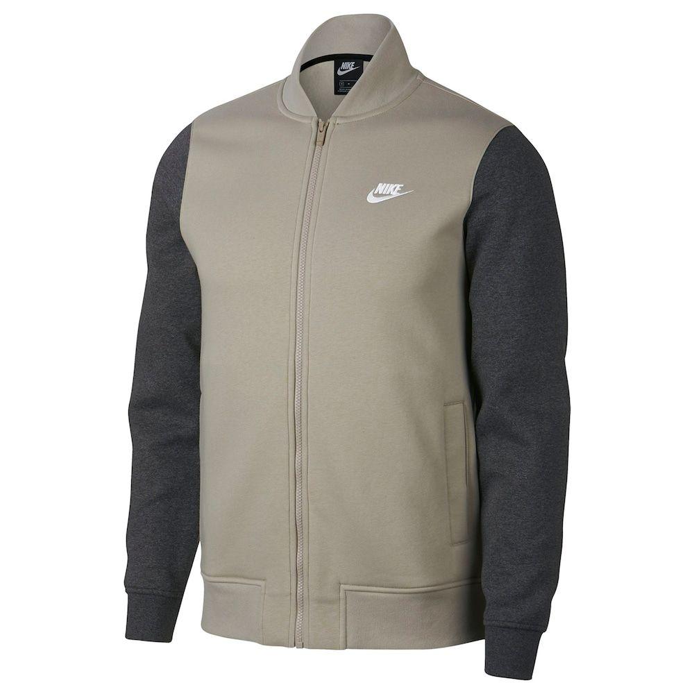 newest 5a7b5 b116b Men s Nike Club Bomber Jacket, Red Coppr (Rust Coppr)