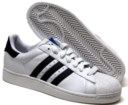 detailing dbe70 d6837 adidas Originals Men s Superstar II Court Sneaker,White Black White,9 D
