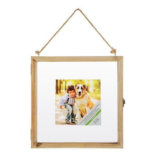 Natural 12 X 12 Float Frame By Studio Decor Studio Decor Floating Frame Hanging Picture Frames