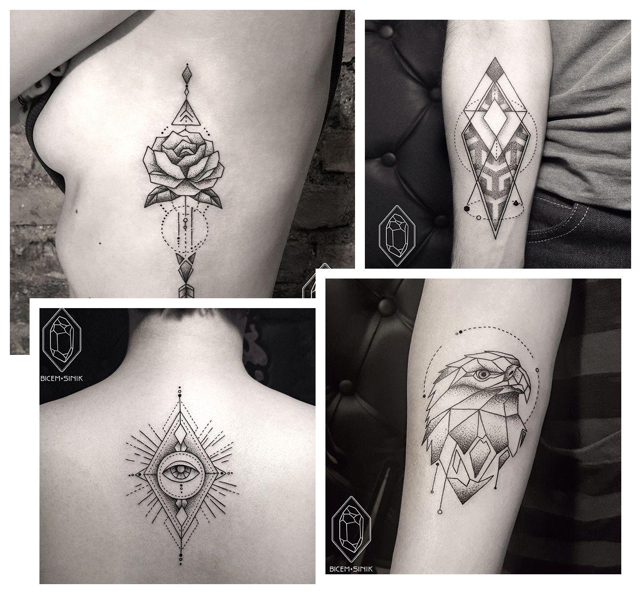 Katharine Padilha: Para se inspirar: Tatuagem geométrica