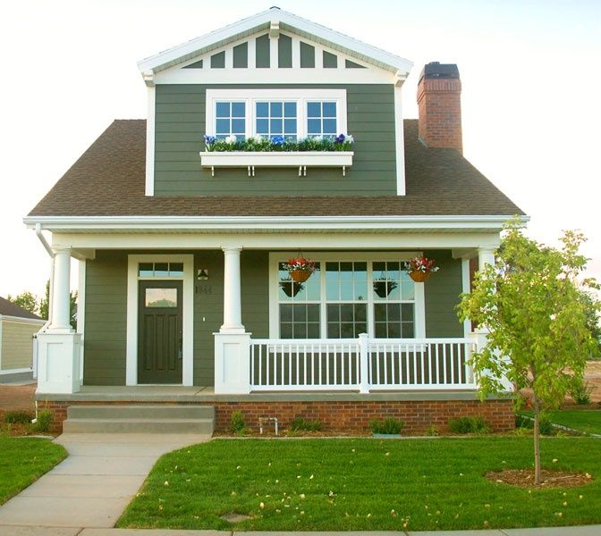 arts and crafts home exterior paint colors | Exterior paint color ...