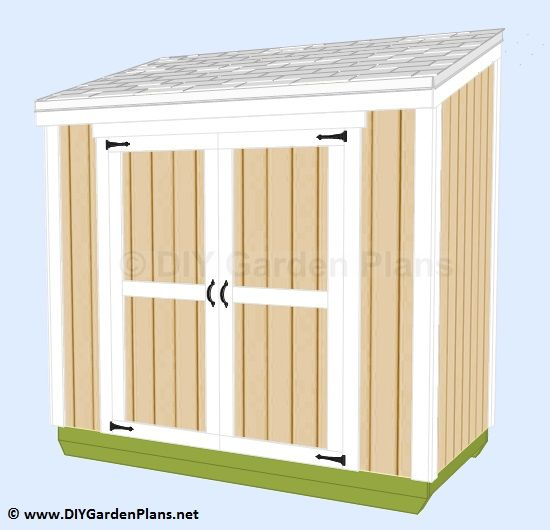 easy to follow guide to build a small lean to shed outdoor sheds and structures pinterest. Black Bedroom Furniture Sets. Home Design Ideas