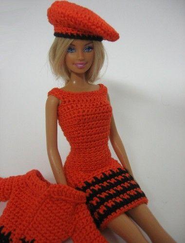Barbie Kleedjes Haken Projecten Om Te Proberen Pinterest