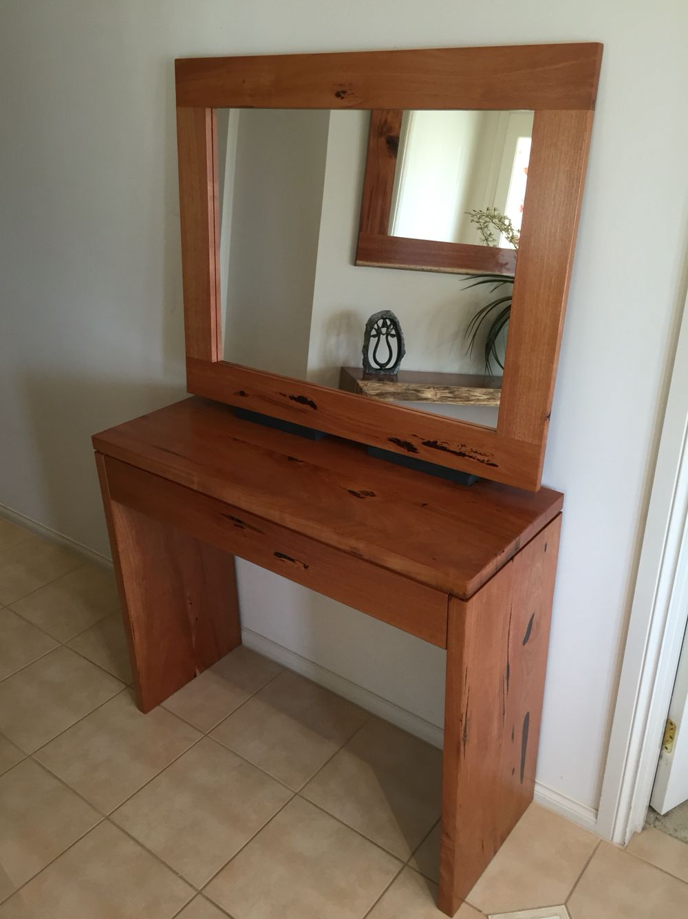 Mirror Hall Table southern mahogany timber hall table and matching mirror | timber