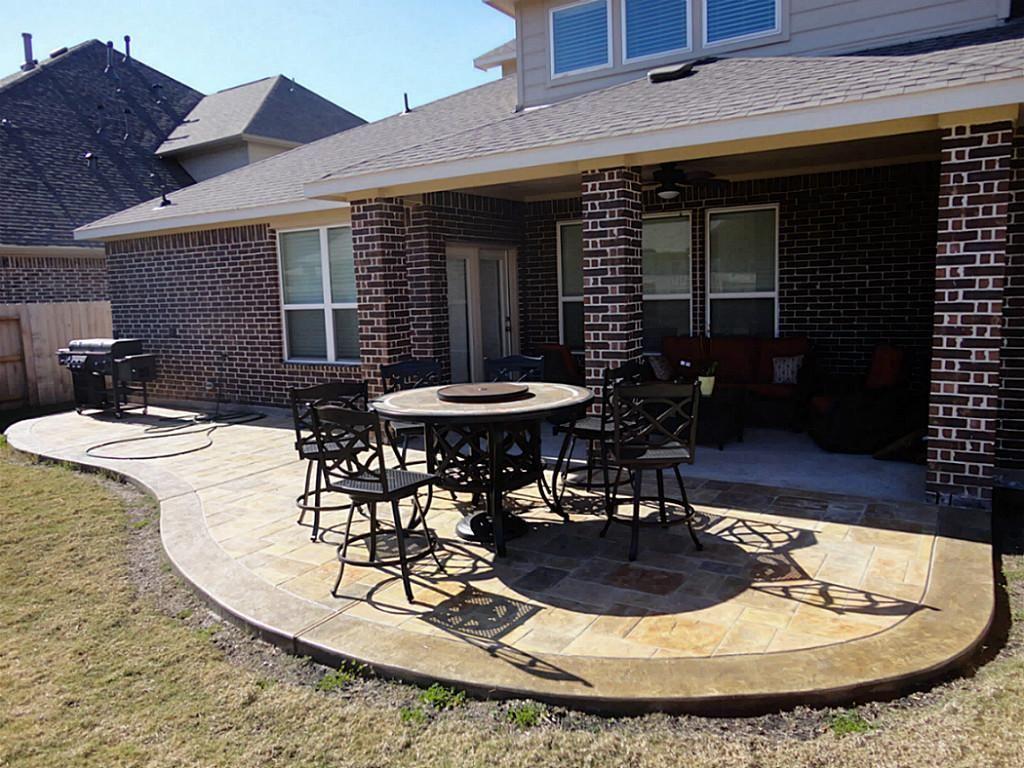 Extend Concrete Patio Concrete patio designs, Patio