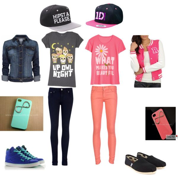 1d1e6ee68999 Girly vs. Tomboy outfits | FASHION!!!!!! | Tomboy outfits, Cute ...