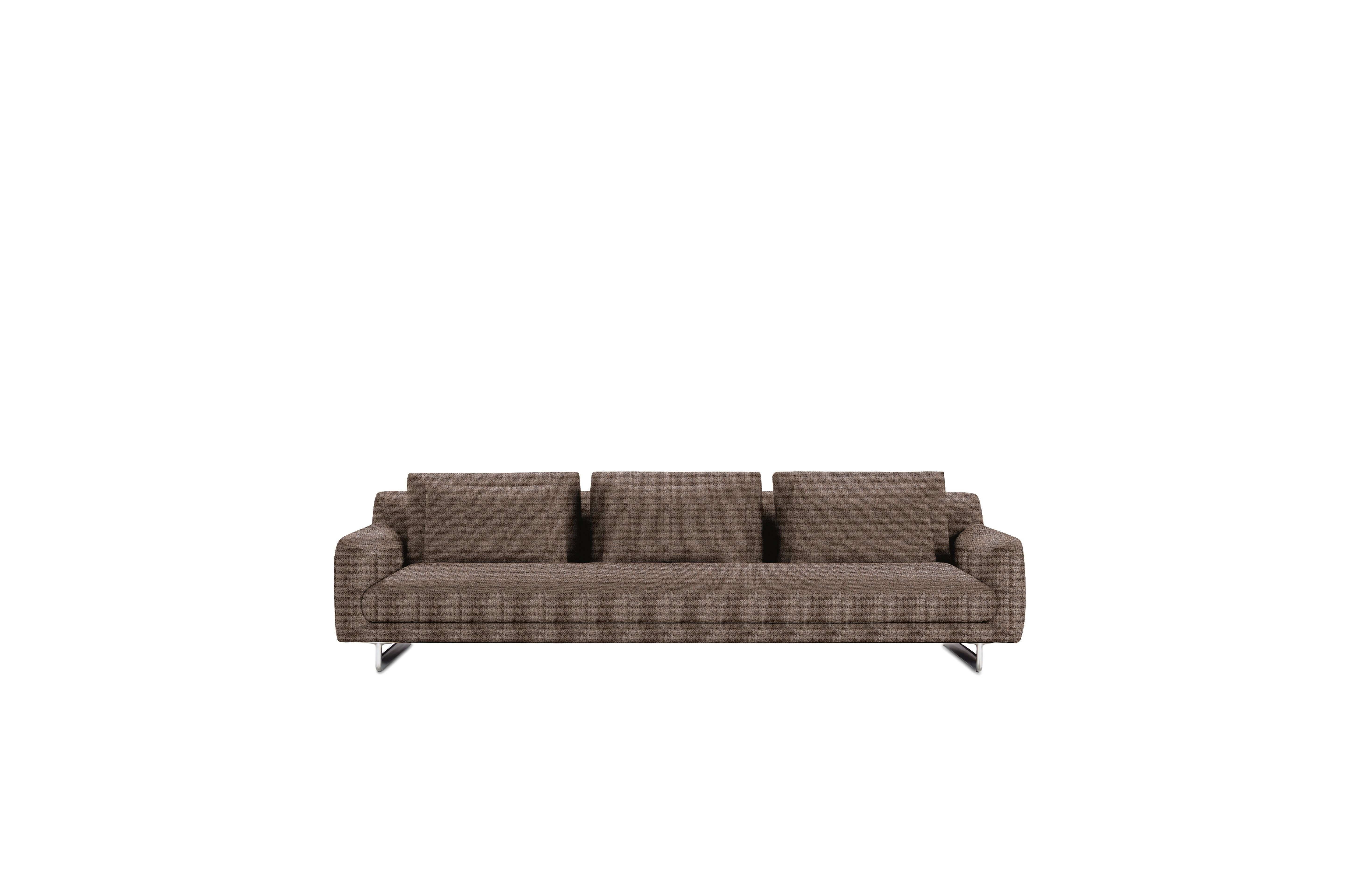 """Lecco Sofa, Brown, 110"""" by Design Within Reach"""
