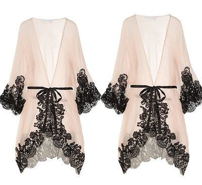 b6af6ce951 Sexy Women Night Bath Robe Dress Ladies Lingerie Sleepwear Silk Nightwear  Gown Peignoir