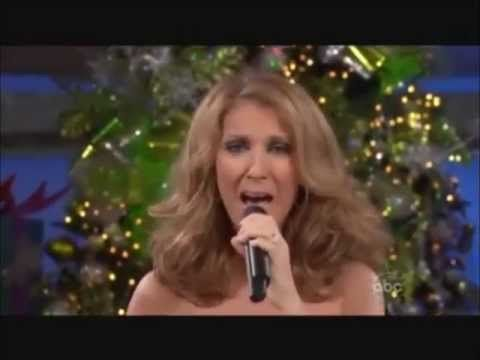 Oh Holy Night Christmas Song With Mariah Carey Celine Dion Celine Dion Celine Dion Live Holiday Songs